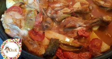 Fırında Sebzeli Tavuk Yemeği Tarifi – Dilek Mutfakta