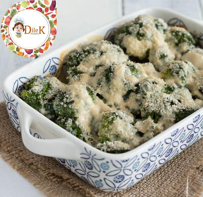 Brokoli Graten Tarifi (Beşamel Soslu)