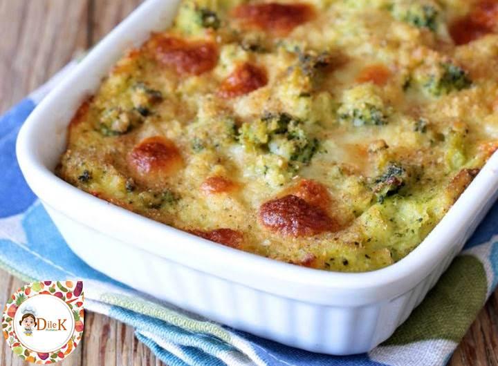 Patates Ve Brokoli Böreği Tarifi